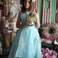 Easter parade vintage blue