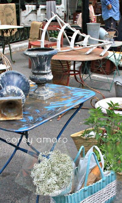 French vintage fair brocante