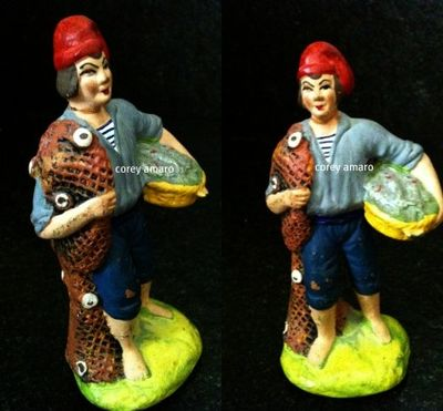 Fisherman santon