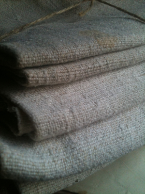French Antique Heavy Linen Towels