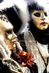 Gold mask venice
