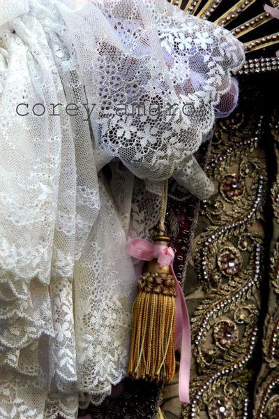 Venice carnival lace