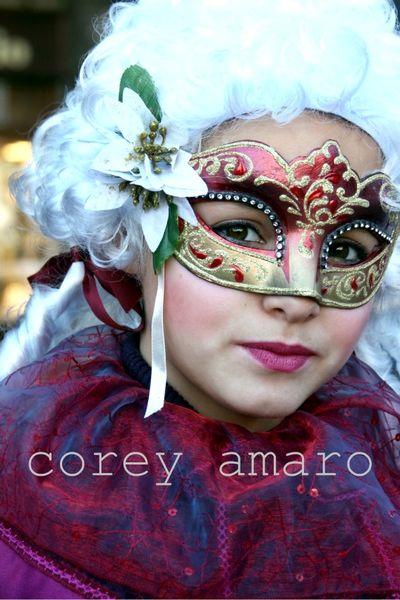 Venice carnival children