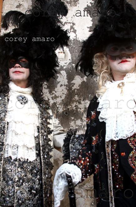 Venetian 18th century style costumes