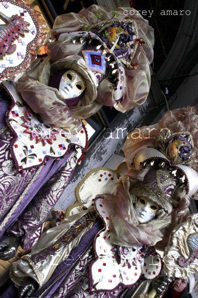 Classic venetian masks