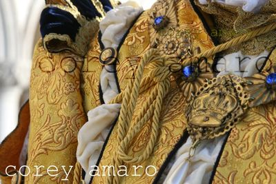 Details in gold thread venice