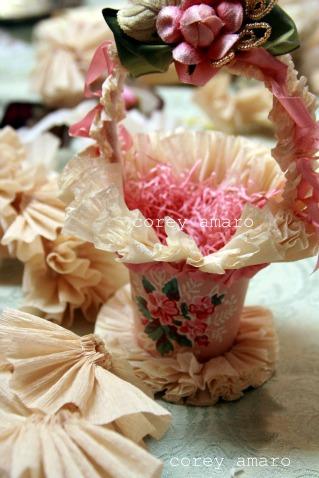 Pink easter Basket