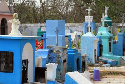 Mexican gravesite
