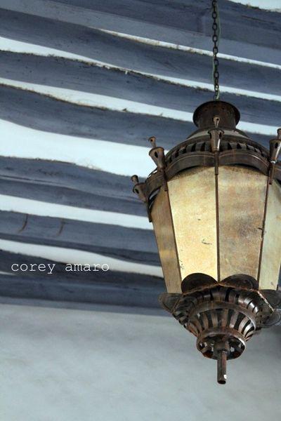 Antique lantern mexico