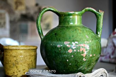 Provence, pottery, france, vintage, antiques
