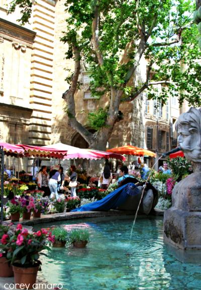 Fountain aix