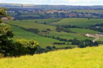 Ireland countryside patchwork,Boreens,back roads,ireland