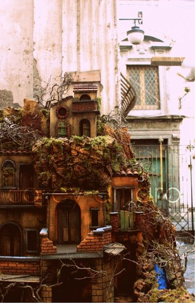 Nativity landscape, Naples, Italy