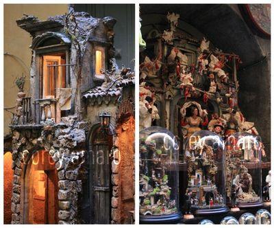 Naples Italy nativity scenes
