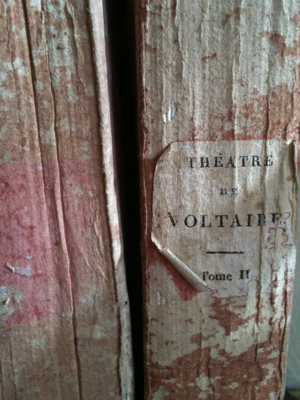 French Antique Paper Back Books