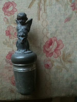 Bottle Stopper Angel Motif