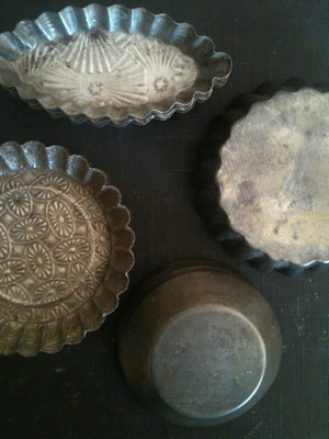 French Tartlette Tins