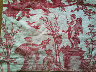 French Antique Toile du Jouy