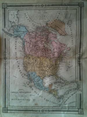 1800s Map Engravings