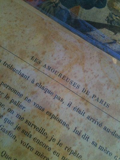 Lovers of PAris