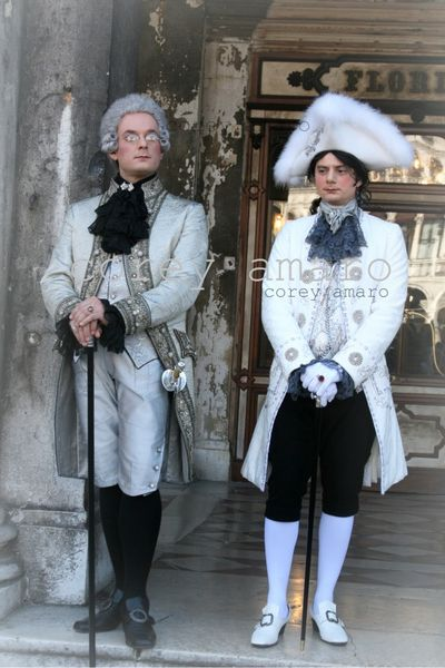 Men 18th century style Venetian