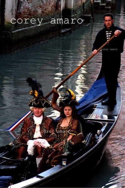 Carnival venice gondola