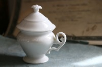 French antiques pot de creme