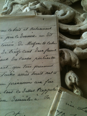Antique French Documents