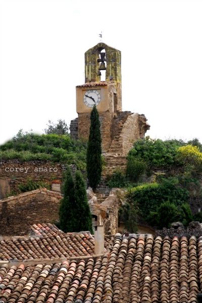 Clock tower provence