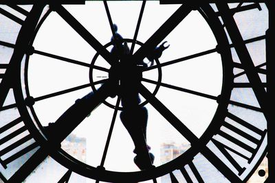 Clock Face Paris