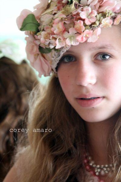 Floral Easter Bonnet