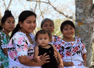 Maya Women Traditional dresses