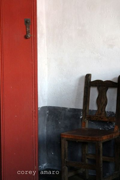 Old door and chair antiques mexico