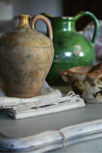 Provence watering jugs