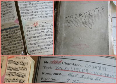 French Antique Music Booklet