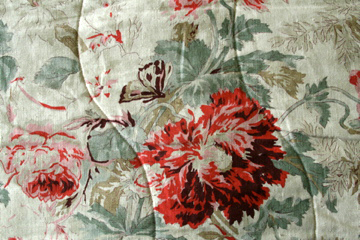 Autumn floral bedcover