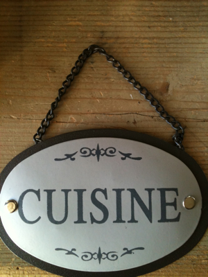 Kitchen Door Tag