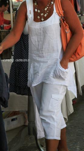 Market wear, France