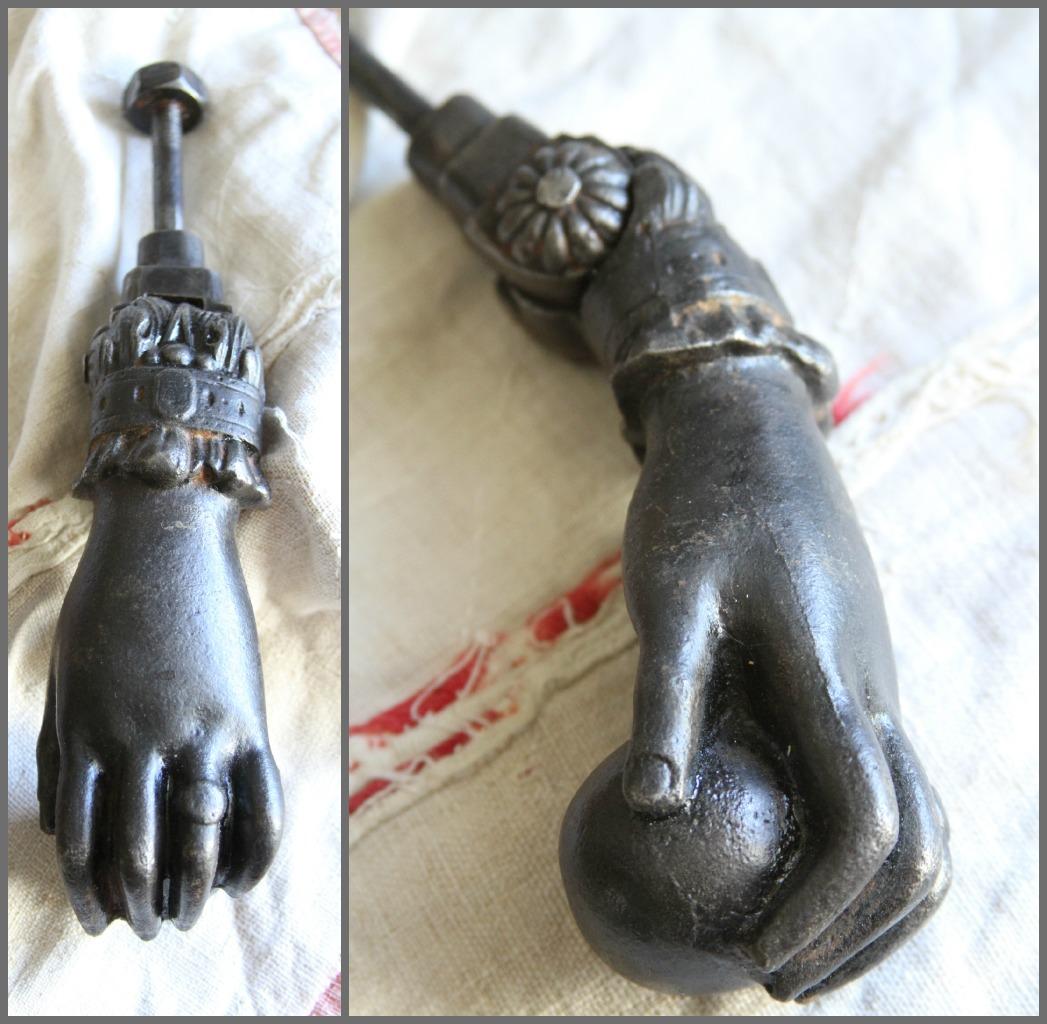 French Antique Fatima Hand Door Knocker...SOLD