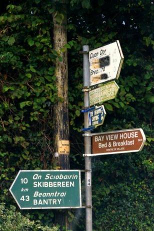 Cork countryside, Boreens,back roads,ireland