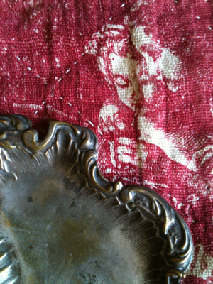 French Antique Tray