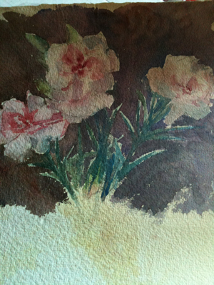 French Antique Floral Watercolor
