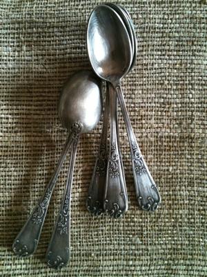 Set of Six Antique Spoons