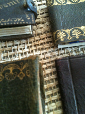 Set of Four Leather Booklets
