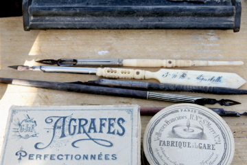 Antique-writing-things