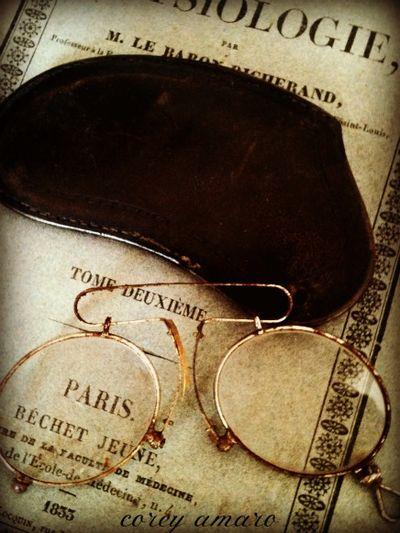 French Brocante Eye glasses