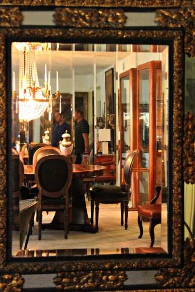 French antiques, reflections