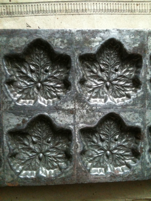 French Chocolate Mold