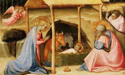 Nativity art