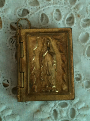 French Antique Book Charm